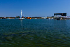 Tomis harbor in Constanta Romania Royalty Free Stock Photos