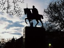 Tomislav короля Загреба Стоковая Фотография RF