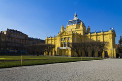 Tomislav vierkant Zagreb Royalty-vrije Stock Fotografie