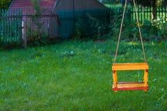 Tomma barns swing Arkivfoto