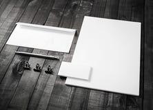 Tomma brevpapperbeståndsdelar Fotografering för Bildbyråer