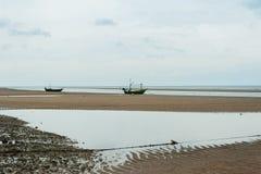 Tomma fiskebåtar Royaltyfri Bild