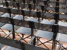 Tomma åhörareplatser Fotografering för Bildbyråer
