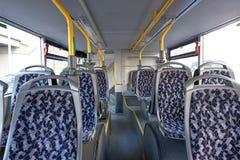 tomma platser för buss Royaltyfri Fotografi