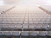 Tomma platser för inomhus stadion Arkivbild