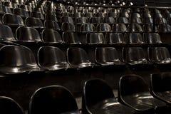 Tomma platser i en konserthall Arkivfoto