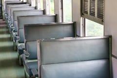 Tomma platser i passageraredrevet Arkivfoton