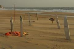tomma sportar för strand Fotografering för Bildbyråer