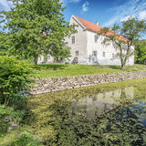 Tommarps Kungsgard Slott in Skane. Tommarps Kungsgard is a castle in Astorp Municipality, Scania in southern Sweden Royalty Free Stock Image