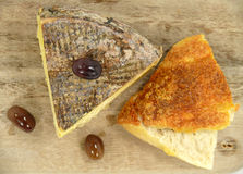 Tomme de Savoie Royalty Free Stock Photos