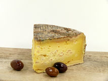 Tomme de Savoie Royalty Free Stock Photo