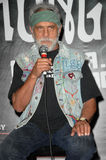Tommy Chong. At a press conference to announce the Cheech and Chong Light up America... Comedy Tour. Troubadour, Los Angeles, CA. 07-30-08 Royalty Free Stock Images