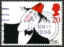 Tommy Cooper UK Postage Stamp Stock Photography