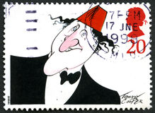 Tommy Cooper UK Postage Stamp Royalty Free Stock Photos