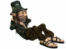 Tommy de Sleeplijn Royalty-vrije Stock Afbeelding