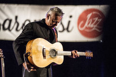 Tommy Emmanuel in tensione Immagini Stock