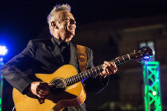 Tommy Emmanuel in tensione Immagine Stock