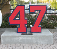 Tommy Glavine Tribute Stock Photography