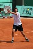 Tommy Haas (GER) bei Roland Garros 2011 lizenzfreies stockbild