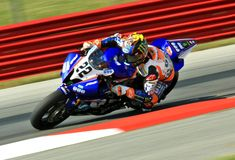 Tommy Hayden of Graves Yamaha Stock Photo