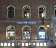 Tommy Hilfiger brand store in Hamburg Royalty Free Stock Photography