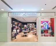 Tommy Hilfiger childrens clothing in Ocean Terminal, Hong Kong Royalty Free Stock Image