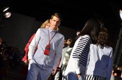 Tommy Hilfiger - de Modeshow van New York Royalty-vrije Stock Afbeelding