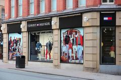 Tommy Hilfiger fashion Royalty Free Stock Photos