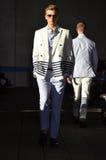 Tommy Hilfiger - New York modeshow Arkivbild