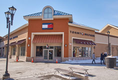 Tommy Hilfiger outlet. Royalty Free Stock Images
