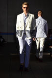 Tommy Hilfiger - sfilata di moda di New York Fotografia Stock