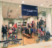 Tommy Hilfiger shop in hong kong Royalty Free Stock Images