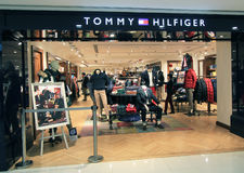 Tommy Hilfiger shop in Hong Kong Royalty Free Stock Photography