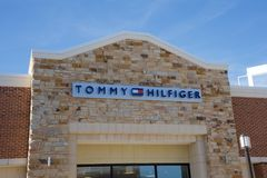 Tommy Hilfiger Shop at the Tanger Outlet Mall in Southaven, Mississippi Stock Image