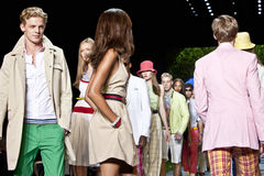 Tommy Hilfiger Spring Summer 2011 collection Stock Image