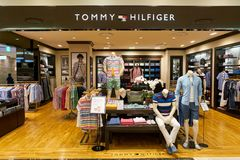 Tommy Hilfiger Store immagine stock
