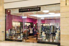 Tommy Hilfiger Store fotografia stock libera da diritti