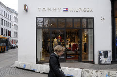 TOMMY HILFIGER STORE Royalty Free Stock Images