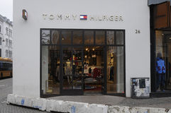 TOMMY HILFIGER STORE Royalty Free Stock Image