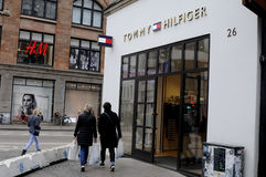 TOMMY HILFIGER STORE Stock Photos