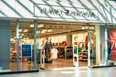 Tommy Hilfiger store front Stock Photo