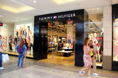 Tommy Hilfiger Store Stock Photo