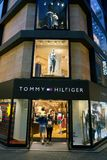 Tommy Hilfiger storefront. SEOUL, SOUTH KOREA - CIRCA MAY, 2017: a Tommy Hilfiger storefront in Seoul Royalty Free Stock Photo