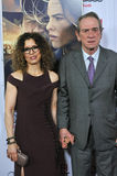 Tommy Lee Jones & Dawn Laurel-Jones. LOS ANGELES, CA - NOVEMBER 11, 2014: Tommy Lee Jones & wife Dawn Laurel-Jones at the gala screening of his movie The Royalty Free Stock Photography