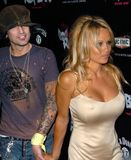 Tommy Lee,Pamela Anderson Royalty Free Stock Image