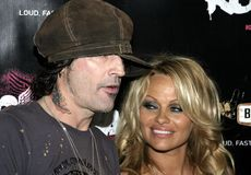 Tommy Lee and Pamela Anderson Royalty Free Stock Photo