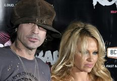 Tommy Lee and Pamela Anderson Stock Images