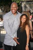 Tommy Lister and wife Felicia at the World Premiere of  Stock Photography