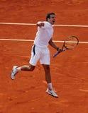 Tommy Robredo (ESPECIALMENTE) en Roland Garros 2009 imagenes de archivo