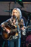 Tommy Shaw de STYX que executa no concerto de Califórnia Imagens de Stock Royalty Free